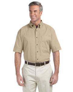 Khaki Men's Short-Sleeve Titan Twill