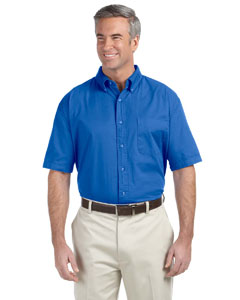French Blue Men's Short-Sleeve Titan Twill