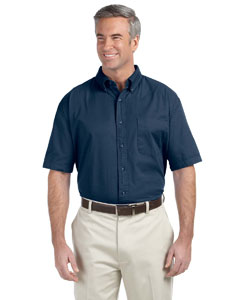 Navy Men's Short-Sleeve Titan Twill