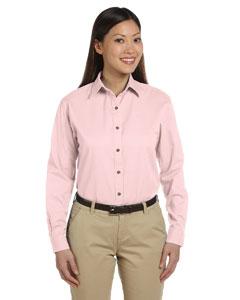 Pink Women's Long-Sleeve Titan Twill