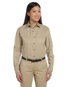 Khaki Women's Long-Sleeve Titan Twill
