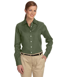 New Olive Women's Pima Advantage Twill