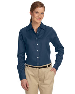 Navy Women's Pima Advantage Twill