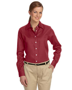 Burgundy Women's Pima Advantage Twill
