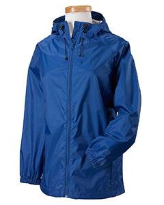 Cobalt Women's Nylon Rip-Stop Rain Jacket