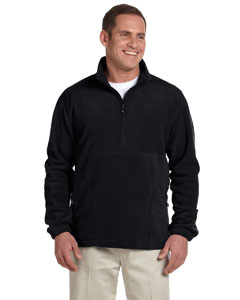Black Wintercept™ Fleece Quarter-Zip Jacket