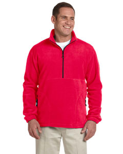 Red Wintercept™ Fleece Quarter-Zip Jacket