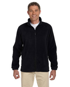 Black Men's Wintercept™ Fleece Full-Zip Jacket