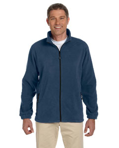 Navy Men's Wintercept™ Fleece Full-Zip Jacket