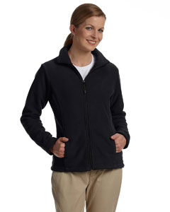 Black Women's Wintercept™ Fleece Full-Zip Jacket