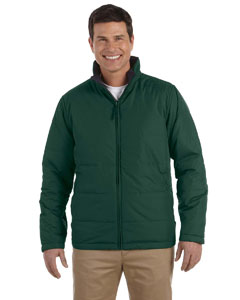 Dark Green Classic Reversible Jacket