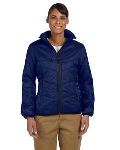New Navy Women's Mini Rip-Stop Polyfill Jacket