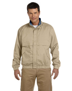 Khaki/navy Men's Clubhouse Jacket