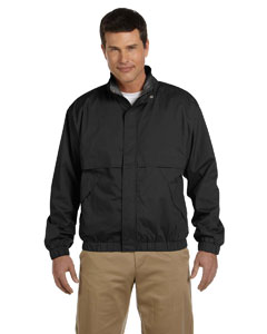 Black/black Men's Clubhouse Jacket
