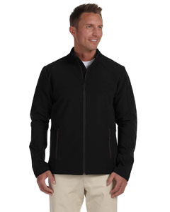 Black Men's Doubleweave Jacket