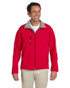 Red Men's Soft Shell Jacket