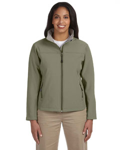 Olive Women's Soft Shell Jacket