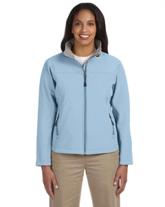 Light Blue Women's Soft Shell Jacket