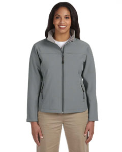 Charcoal Women's Soft Shell Jacket