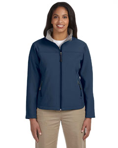 Navy Women's Soft Shell Jacket