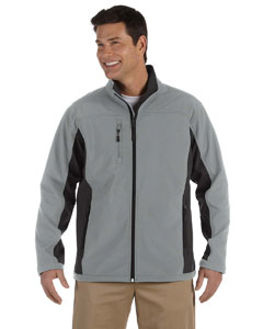 Charcoal/dk Charcoal Men's Soft Shell Colorblock Jacket