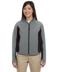 Charcoal/dk Charcoal Women's Soft Shell Colorblock Jacket