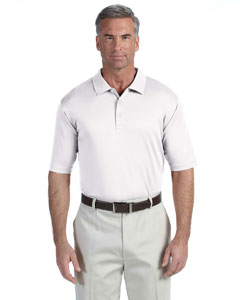 White Men's Pima-Tech™ Jet Piqué Polo