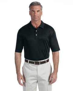 Black Men's Pima-Tech™ Jet Piqué Polo
