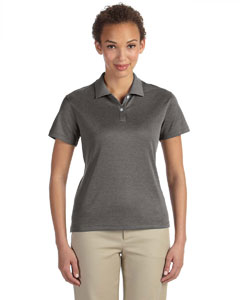 Dk Grey Heather Women's Pima-Tech™ Jet Piqué Heather Polo