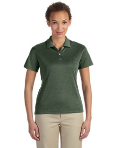 Forest Heather Women's Pima-Tech™ Jet Piqué Heather Polo