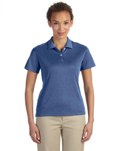 French Blue Heather Women's Pima-Tech™ Jet Piqué Heather Polo
