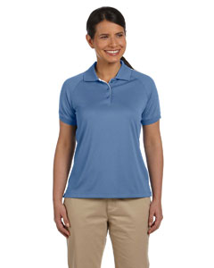 Lake Blue/white Women's Dri-Fast™ Advantage™ Colorblock Mesh Polo