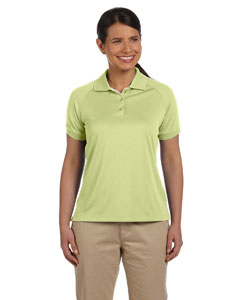 Spring Grass/white Women's Dri-Fast™ Advantage™ Colorblock Mesh Polo