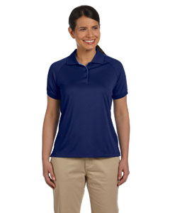 New Navy/lake Blue Women's Dri-Fast™ Advantage™ Colorblock Mesh Polo