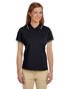 Black/white Women's Dri-Fast™ Advantage™ Piqué Polo