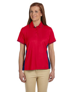 Red/new Navy Women's Dri-Fast™ Advantage™ Piqué Polo