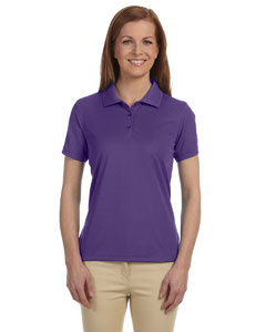 Team Purple Women's Dri-Fast™ Advantage™ Solid Mesh Polo