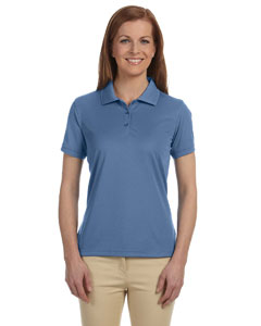 Lake Blue Women's Dri-Fast™ Advantage™ Solid Mesh Polo