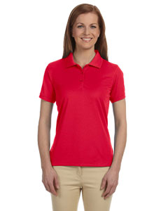 Red Women's Dri-Fast™ Advantage™ Solid Mesh Polo
