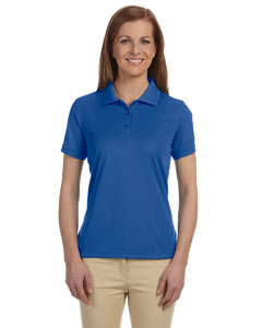 True Royal Women's Dri-Fast™ Advantage™ Solid Mesh Polo
