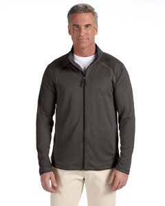 Dk Grey Heather Men's Stretch Tech-Shell™ Compass Full-Zip