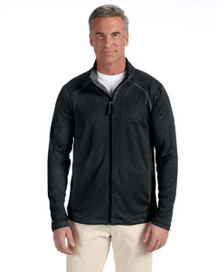 Black Men's Stretch Tech-Shell™ Compass Full-Zip