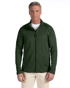 Forest Heather Men's Stretch Tech-Shell™ Compass Full-Zip