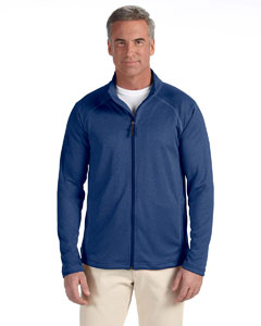 French Blue Hthr Men's Stretch Tech-Shell™ Compass Full-Zip