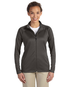 Dk Grey Heather Women's Stretch Tech-Shell™ Compass Full-Zip