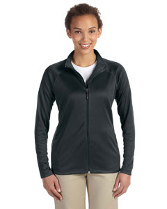 Black Women's Stretch Tech-Shell™ Compass Full-Zip