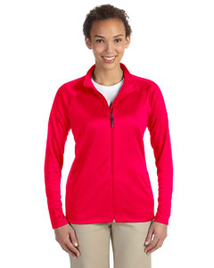 Red Women's Stretch Tech-Shell™ Compass Full-Zip
