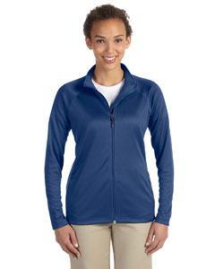 French Blue Hthr Women's Stretch Tech-Shell™ Compass Full-Zip