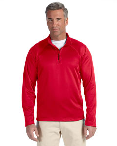 Red Men's Stretch Tech-Shell™ Compass Quarter-Zip