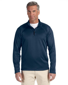 Navy Men's Stretch Tech-Shell™ Compass Quarter-Zip